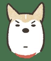 Shiba Inu (Shiba-Dog) stamps sticker #96519