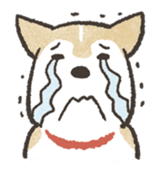 Shiba Inu (Shiba-Dog) stamps sticker #96529