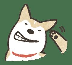 Shiba Inu (Shiba-Dog) stamps sticker #96533