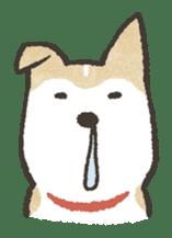 Shiba Inu (Shiba-Dog) stamps sticker #96534