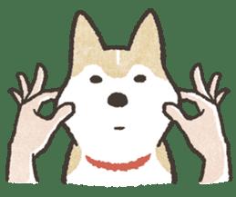 Shiba Inu (Shiba-Dog) stamps sticker #96535