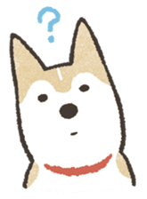 Shiba Inu (Shiba-Dog) stamps sticker #96536
