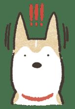 Shiba Inu (Shiba-Dog) stamps sticker #96537