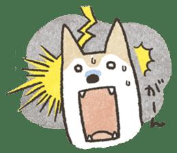 Shiba Inu (Shiba-Dog) stamps sticker #96538