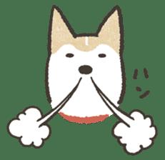 Shiba Inu (Shiba-Dog) stamps sticker #96540