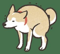 Shiba Inu (Shiba-Dog) stamps sticker #96544