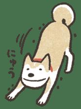 Shiba Inu (Shiba-Dog) stamps sticker #96545