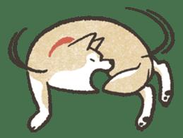Shiba Inu (Shiba-Dog) stamps sticker #96548