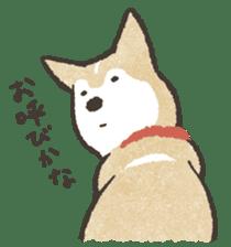 Shiba Inu (Shiba-Dog) stamps sticker #96550