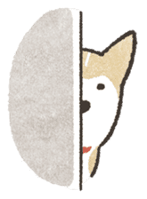 Shiba Inu (Shiba-Dog) stamps sticker #96551