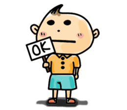 Narikiri CHIROTA sticker #128701