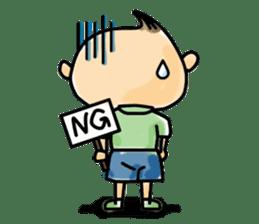 Narikiri CHIROTA sticker #128702