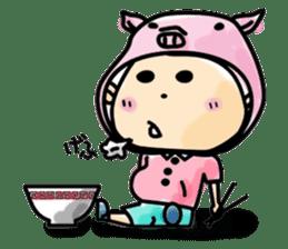 Narikiri CHIROTA sticker #128703