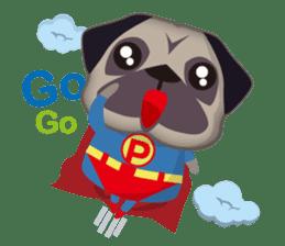 PUG's Life 01 sticker #182089