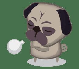 PUG's Life 01 sticker #182090