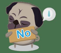 PUG's Life 01 sticker #182095