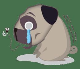 PUG's Life 01 sticker #182100