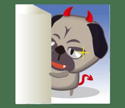 PUG's Life 01 sticker #182102