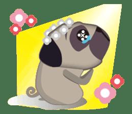 PUG's Life 01 sticker #182104