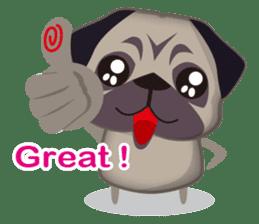 PUG's Life 01 sticker #182106