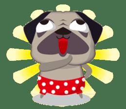 PUG's Life 01 sticker #182110