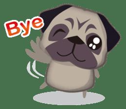 PUG's Life 01 sticker #182114
