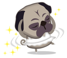 PUG's Life 01 sticker #182116