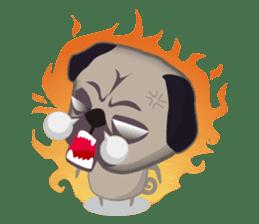 PUG's Life 01 sticker #182117