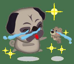 PUG's Life 01 sticker #182119