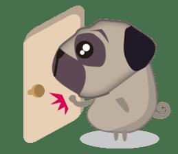 PUG's Life 01 sticker #182122