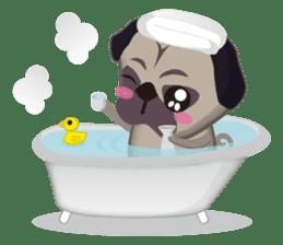 PUG's Life 01 sticker #182126
