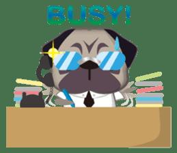 PUG's Life 01 sticker #182127
