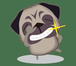 PUG's Life 01 sticker #182128