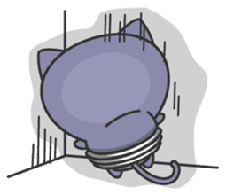 light bulb cat sticker #195392