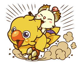 Chocobo sticker #18624