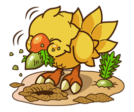 Chocobo sticker #18627