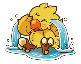 Chocobo sticker #18630