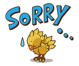 Chocobo sticker #18634