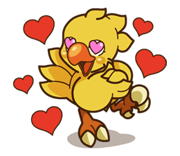 Chocobo sticker #18636