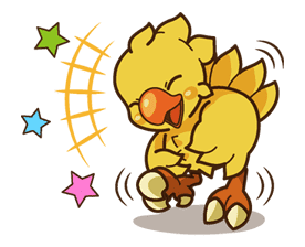Chocobo sticker #18641