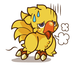 Chocobo sticker #18643
