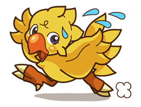 Chocobo sticker #18656