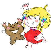 สติ๊กเกอร์ไลน์ Ado Mizumori 2: Happy Girls!