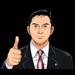 สติ๊กเกอร์ไลน์ Kosaku Shima Series