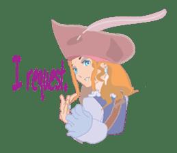 Mary Pirates_W sticker #7562693