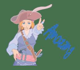 Mary Pirates_W sticker #7562695