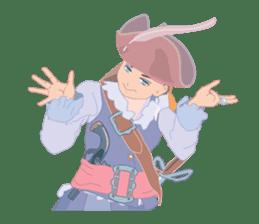 Mary Pirates_W sticker #7562703