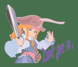 Mary Pirates_W sticker #7562706