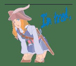Mary Pirates_W sticker #7562721