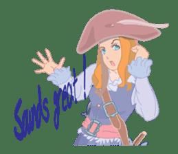 Mary Pirates_W sticker #7562722